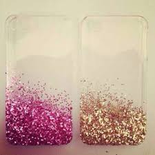 Glitter IPhone 4 Case by Kkaitlynp on Etsy