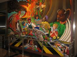 Denver International Airport Murals Painted Over by The Davenports Denver Extra Pics