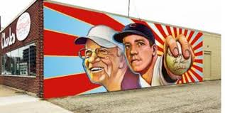 Big Ang Mural Unveiling by Ol U0027 Lefthander Joe Nuxhall To Be Featured On Hamilton Mural