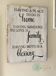 First Home Sign Rustic Wedding Gift Couple Welcome Wood Our Quotes Sayings