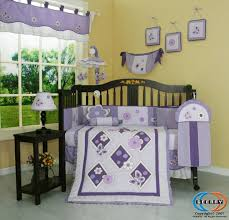 100 Truck Crib Bedding GEENNY Boutique 13 Piece Set Lavender Butterfly
