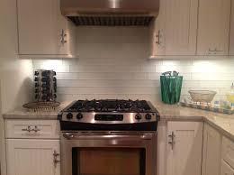 Cheap Backsplash Ideas For Kitchen by Home Design Warm Inexpensive Backsplash Ideas With White Subway