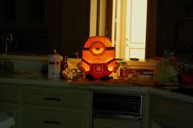 Pumpkin Carving Minion by Minion O Lantern Album On Imgur