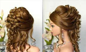 Cute With Braid Front View Easy Best Curly Prom Hairstyles To The Side Tumblr