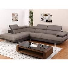 canapé d angle taupe canape d angle tissus taupe dans canapé achetez au meilleur prix