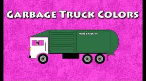 100 Truck Colors Vids4kidstv Garbage YouTube