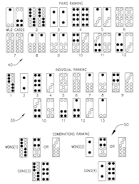 Pai Gow Tiles Set by Patent Us6328305 Casino Game Google Patents