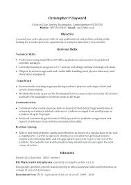 Skill Set Examples For Resume Sample Skills