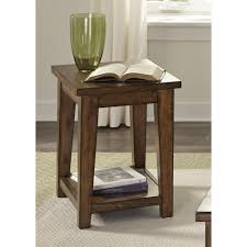 liberty furniture lancaster chair side table l fish cocktail