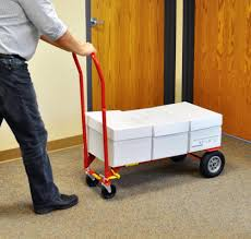 100 Milwaukee Convertible Hand Truck 600 LB Heavy Duty Object Moving