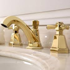 Polished Brass Bathroom Faucets Widespread by Brass Bathroom Faucets Widespread Golden