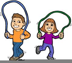 Free Clipart Of Kids Playing Outside Image