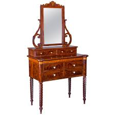Antique Birdseye Maple Dresser Value by Mahogany And Birds Eye Maple Dressing Table With Mirror Baltimore