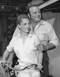 Dan Blocker And Wife Dolphia ParkerSadly Was Lost So Young Leaving Parker A Widow To Raise Their ChildrenWe Love You Hoss