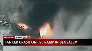 100 Fire Truck Driver 2 I95 Northbound Ramp To Woodhaven Road In Bensalem Reopens After