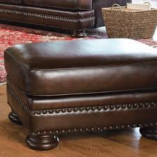 Bernhardt Foster Leather Furniture by Bernhardt Furniture Foster Leather Ottoman Bn 5171lo