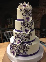 Beautiful Wedding Stunning 0f6b62ae7ad118422df1b001bbbe411e Cake Purple White