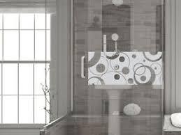 details zu glasdekor fensterfolie aufkleber sichtschutz badezimmer wc bad dusche retro