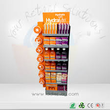 Wholesale Recycle Corrugated Cardboard Coffee Paper Display Stand