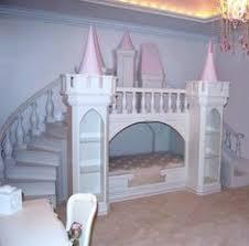chambre de princesse lit château de princesse en bois cabane enfant sur mesure nord
