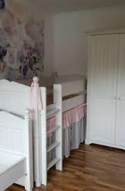 details zu set cinderella schrank hochbett bett weiß kiefer massivholz ohne lattenrost