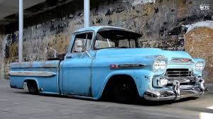 100 1958 Chevy Truck Chevrolet Apache 283 AirRide Street Radical WatchThisCar