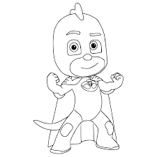 Romeo From PJ Masks Coloring Page Free Printable Pages