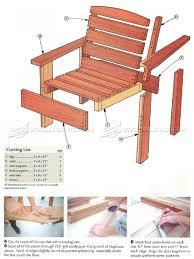 Cheap Garden Supplies: Free Plans For Outdoor Furniture