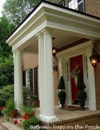 Columns On Front Porch by How Much Does It Cost To Build Or Add On A Front Porch