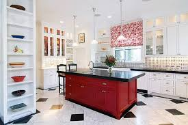 Ideas And Inspirations For Red Kitchen Decor