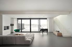 Poured Resin Flooring Compatible With Underfloor Heating Systems Newcastle Modern Living Room