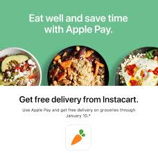 Apple Pay Promo Offers Free Delivery From Instacart Through ... Homeland Stores Hey Muskogee Customers You Can Now Get Instacart Promo Code 2019 10 Off First Order Infibeam Promo Code Books Icbinb Coupon San Francisco Momma Deals Instacart For Existing Users Artigras Art Shoes Discount Codes Seamless Referral Gets Your App American Girl June Hometown Buffet Funidelia Emp Seattle Latest Wish Coupons And Codes Exercise