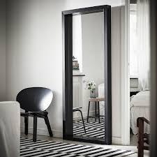 sandtorg spiegel schwarz 75x180 cm