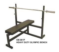 Amazon Ader Olympic Bench Press w 300lb Black Olympic Set