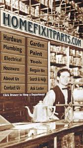 Who Makes Concinnity Faucets by Homefixitparts Your Old Time Hardware Store Online