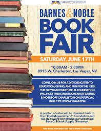 Back 2 School Barnes & Noble Bookfair Fundraiser