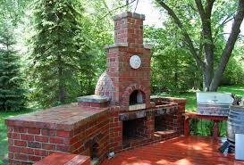 Brick Pizza Oven Traditional Patio Chicago by ADV MASONRY