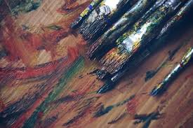 Art Supplies Artist Blue Brush Color C