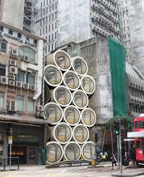 100 Via Apartment Homes OPod Concrete Pipe Microapartment In Hong Kong GiGadgets