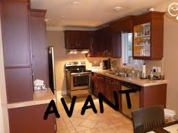 couleur armoire cuisine restauration armoires de cuisine en chêne repeinte couleur blanc crème