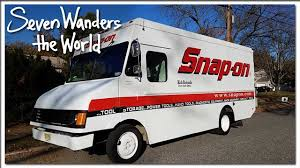 99 Truck Tools Snap On Tool Step Van RV Conversion E193 YouTube