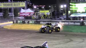100 Monster Truck Backflip Jam World Finals 18 XVIII 25th Anniversary Encore