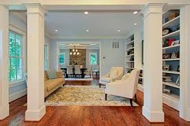 Living Room Support Columns Design Ideas Pictures Remodel And Decor