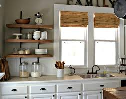 Kitchen Cool Design Ideas Reclaimed Wood Shelves Amazing Our Vintage Home Love Shelving Reveal Magnificent Shelf For Mixer Gripping Free
