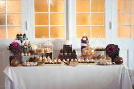The Wedding Colors Were Beautiful Fall Tones Of Browns Golds Purples And Pewter I Have Been Dying To Use Kale In A Dessert Table This Season Was So