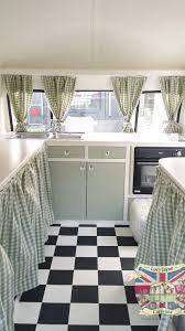 Camper Interior Decorating Ideas by Vintage Caravan Bespoke Built Soft Catering Interior