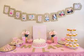 Pink And Gold Birthday Themes by Miss Mila U0027s First Birthday Party Pink U0026 Gold Twinkle Twinkle