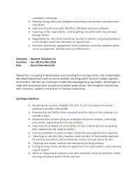 Vidyasagar Bench Sales Resume