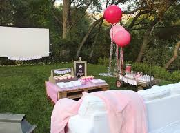 Backyard Sweet 16 Party Ideas Design And In Birthday