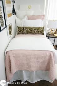 Blush Pink & Cheetah Print Designer Teen Girl Bedding Se